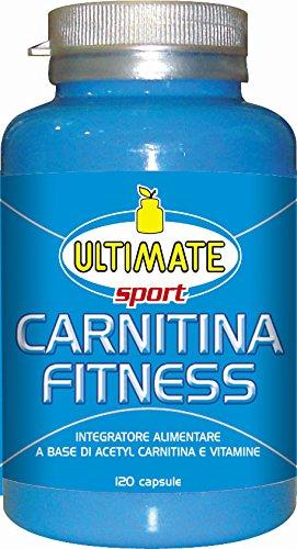 Carnitina Fitness – Acetil L Carnitina E Vitamine - Quante Volte Hai Cercato Di Liberarti Da Quegli Ultimi Chili Di Grasso Che Non Vogliono Andare Via? - 120 Capsule - Ultimate Italia
