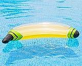 LQY Schwimmende Reihe des Aufblasbaren Bananenpools, Aufblasbares Spielzeug des Erwachsenen Spielzeugwassers, Swimmingpoolruhestuhl