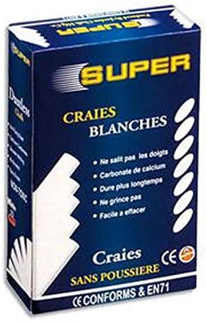 Lot Lot Lot de 15 Boites de 10 craies anti-poussière, coloris blanc B0182NBVKY   Stocker  c2a091