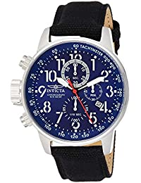 Invicta I-Force Men's Wrist Watch Stainless Steel Quartz Blue Dial - 1513