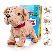 Marsjoy DOG Plush Animated Walking Pet