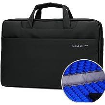 Borsa per PC portatile 13.3 -14 pollici, iNeseon [Impermeabile & Antiurto] Custodia di Neoprene Borsa a Tracolla / Ventiquattrore / per MacBook Pro 13/ MacBook Pro 13.3 Retina/ Laptop / Notebook 13,3-14 pollici *Nero*
