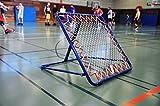 Rebounder Fußball / Tchoukball Rückprallwand - 100cm x 100cm - Fussball Trainingszubehör - 5 verschiedene Winkel mög