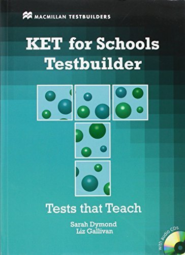KET for Schools Testbuilder [With 2 CDs] (MacMillan Testbuilders) by Sarah Dymond (2011-01-01)