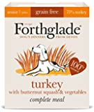 Forthglade Lifestage Senior Turkey with Butternut Squash and Vegetables, 395 g, Pack of 7