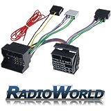 RWS-976 VW / Audi / Seat / Skoda / Mercedes / BMW Parrot / Bluetooth ISO Adaptor Lead