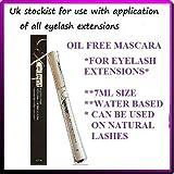 Excellent Volume Up Mascara für künstliche Wimpern, wasserbasiert, ölfrei, für voluminöse Wimpern
