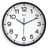 By Cep Wanduhr lautlos 11679, Durchmesser 30 cm, schwarz 2116790011