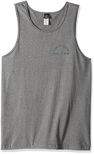 Volcom Herren Ärmelloses T-shirt Sarcrasstic Top Ärmelloses T-shirt Herren Tank Top Grau Heather Grey