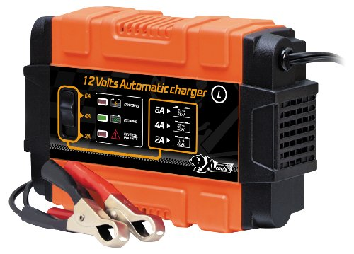 XL Perform Tool 553982 Carica-Batteria Automatico, 12V, 10 a 75Ah, L