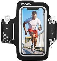Mpow Fascia da Braccio Portacellulare per Correre, Sweatproof Porta Cellulare Braccio per iPhone 11 Pro/11/XR/