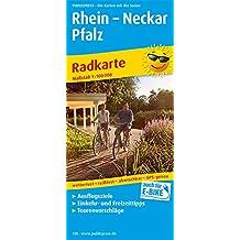 Rhein - Neckar - Pfalz: Radwanderkarte mit Ausflugszielen, Einkehr- & Freizeittipps, wetterfest, reissfest, abwischbar, GPS-genau. 1:100000 (Radkarte/RK)
