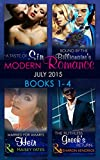 Modern Romance July 2015 Books 1-4: The Ruthless Greek's Return / Bound by the Billionaire's Baby / Married for Amari's Heir / A Taste of Sin (Mills & ... Collections) (Mills & Boon Collections)