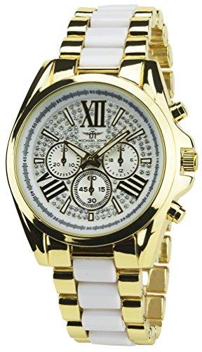 michael-john-orologio-donna-bianco-oro-quarzo-oro-cassa-acciao-display-analogico-cinturino-acciao