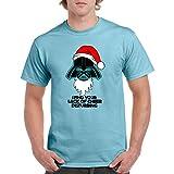 ZX Adult Printed T Shirts-Darth Vader Star Wars Christmas Top Funny Gift Tee