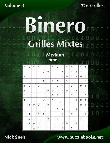 Binero Grilles Mixtes - Medium - Volume 3-276 Grilles par Nick Snels