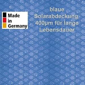 Solarabdeckung, blau 400my für Rundbecken Ø 9,00m