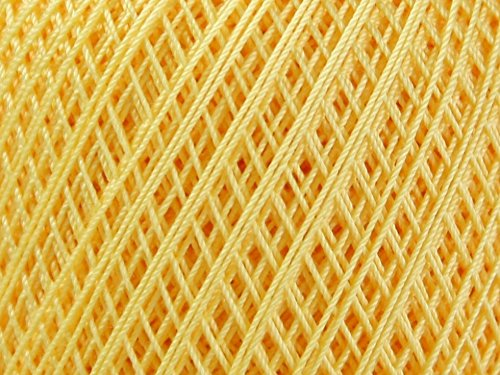 DMC Babylo Cotton Crochet Thread Size 20 743 - per 50 gram ball