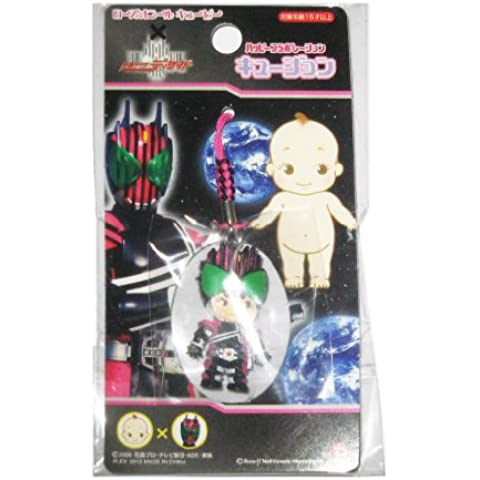 John queue Netsuke Rose O'Neill Kewpie x Kamen Rider Decade (japan import)