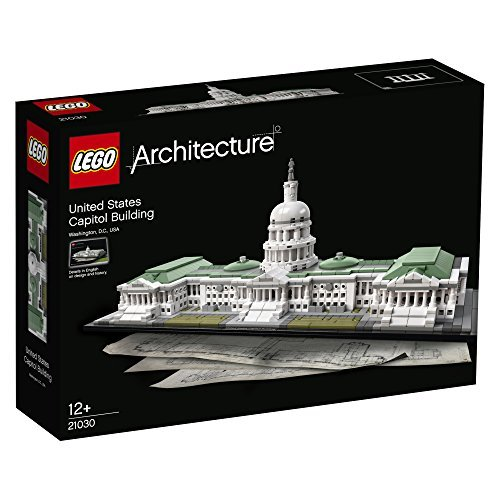 LEGO Architecture 21030 United States Capitol Building Building Set by LEGO