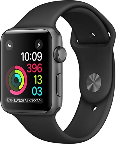 apple watch series 1 smart watch (space gray aluminum case, black sport band) Apple Watch Series 1 Smart Watch (Space Gray Aluminum Case, Black Sport Band) 513mGwwm9aL