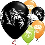 Party Palast - Party Ballonset Star Wars 6 Stk., Mehrfarbig