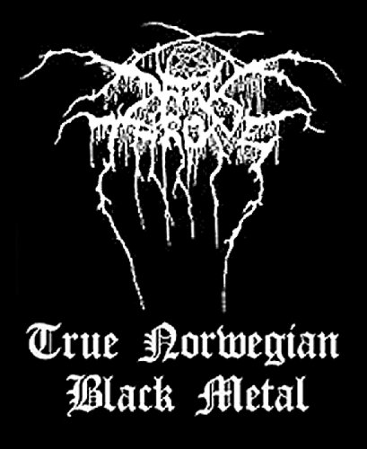 Darkthrone - True Norweigan Black Metal [Patch/Aufnäher, Gewebt] [SP1714] (Shirt Fallen Gewebt)