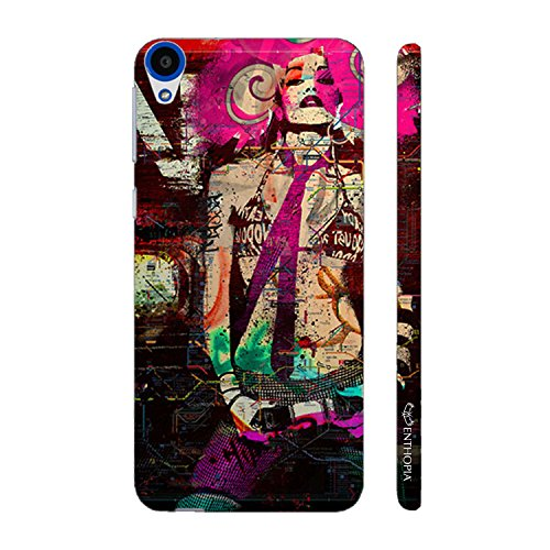 Enthopia Designer Hardshell Case POP IT UP GIRL Back Cover for HTC Desire 820  available at amazon for Rs.95