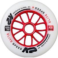 K2 Juego de Ruedas (125mm Elite Wheel Each, Multicolor, One Size, 30b3014.1.1.1siz