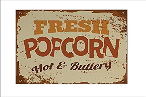 Tiles Food Restaurant Popcorn Ceramic Print