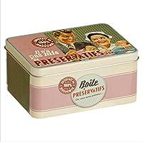 Caja Metalica Bote Vintage Retro para Preservativos Diseño Paris 510160 7090