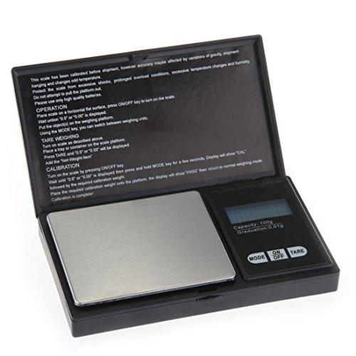 Mini Digital Taschen Skala Taschen Waagen 100G-0.01g LCD Display Precision bewegliche Balancen Gram Mini-digital-tasche