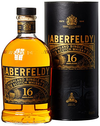 Aberfeldy Highland Single Malt Whisky 16 Jahre (1 x 0.7 l) - Bergamotte Und Orange