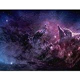 Fototapeten Galaxy 352 x 250 cm Vlies Wand Tapete Wohnzimmer Schlafzimmer Büro Flur Dekoration Wandbilder XXL Moderne Wanddeko - 100% MADE IN GERMANY - Sterne Violett Runa Tapeten 9190011a