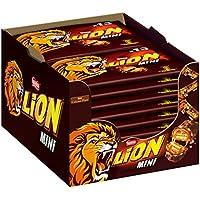 Nestlé Lion Mini Schokoriegel mit Karamell, 16er Pack (16 x 13 Riegel, 16 x 234g)