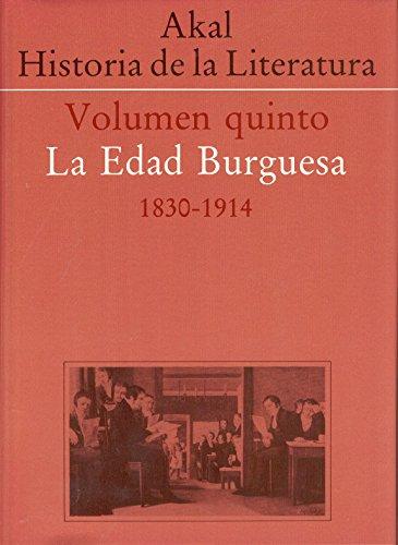 Historia de la literatura V