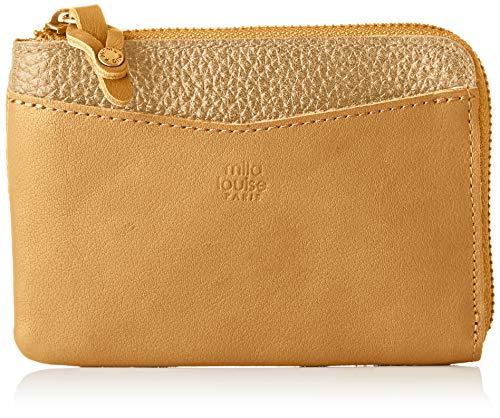 Mila Louise Damen Macha Brieftasche, Gelb (SAFRAN 46), 2x10,5x15 cm - Safran-leder-schuhe