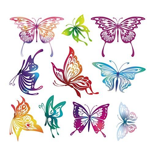 Parches Hergon mariposas para ropa de niños