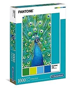 Clementoni- Puzzle 1000 pzas Pantone Blue, (39495)