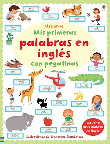 Mis Primeras Palabras En Inglés Con Pegatinas