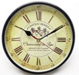 Kartique 8 Inch Wall Clock in Metal- For...
