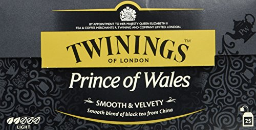 Twinings Prince of Wales 50g, 25 Beutel,2er Pack (2 x 50 g)