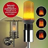 EASYmaxx 04492 LED-Glühlampe   Energiespar-Glühbirne mit realistischem Flammen-Effekt   Fassung E27