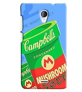 Blue Throat Mushrrom Box Printed Designer Back Cover/ Case For Micromax Unite2 (A106)
