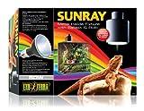 Exo Terra SunRay Lampenhalterung mit Vorschaltgerät und Metalldampflampe 50W