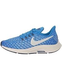 watch 31279 68175 Nike Jungen Zoom Pegasus 35 (gs) Laufschuhe, Mehrfarbig (Cobalt BlazeLight  BoneSailBlue Void 401), 33…