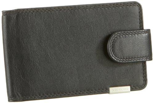 Bodenschatz Kings Nappa 8-673 KN 01, Unisex - Erwachsene Portemonnaies, Schwarz (black), 12x8x1 cm (B x H x T) Schwarz (Black)