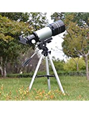 Mixen 150X Professional Space Astronomical Monocular Telescope with Barlow Lens Eyepiece and Tripod and Moon Filter
