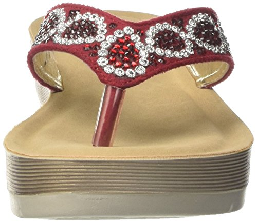 In Blu Desy, Flops Femme Rouge (Rosso)