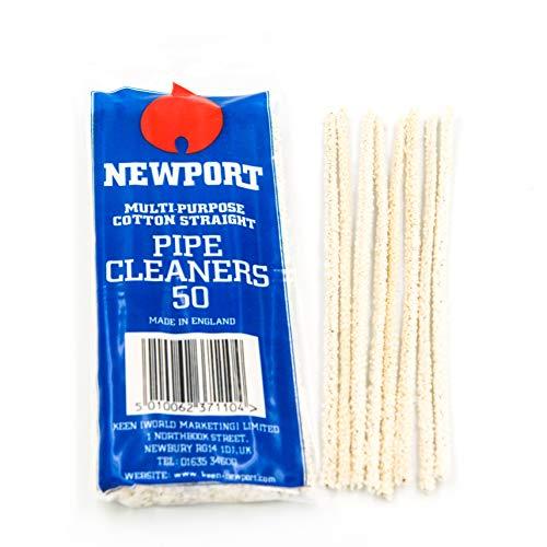Newport Pfeifenreiniger 1x 50Craft Art Chenille Sticks-1Beutel (50Sticks) Verkauft von Trendz